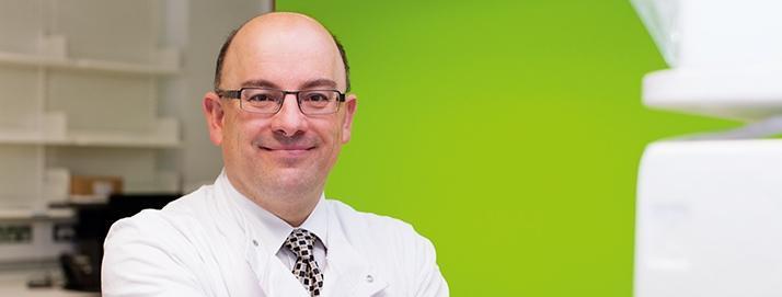 Professor Johann de Bono, Novel Cancer Therapeutics Theme Lead