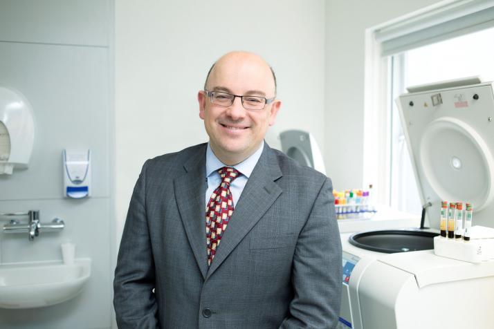 Study leader Professor Johann de Bono