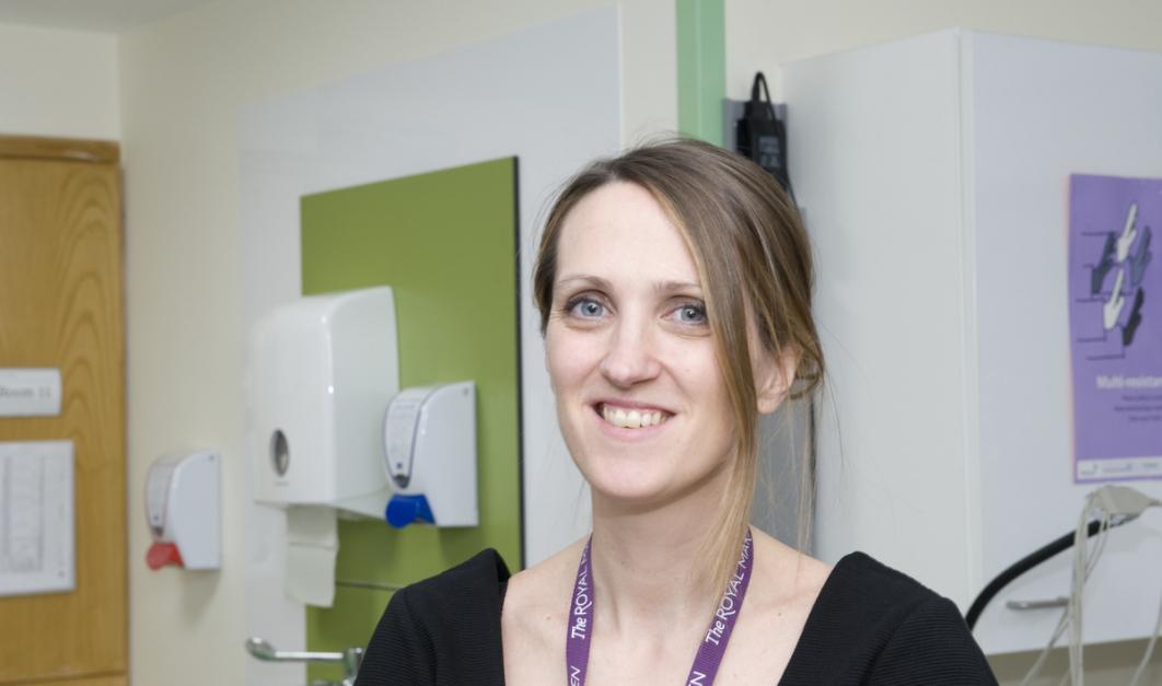 Consultant Haematologist Dr Emma Nicholson