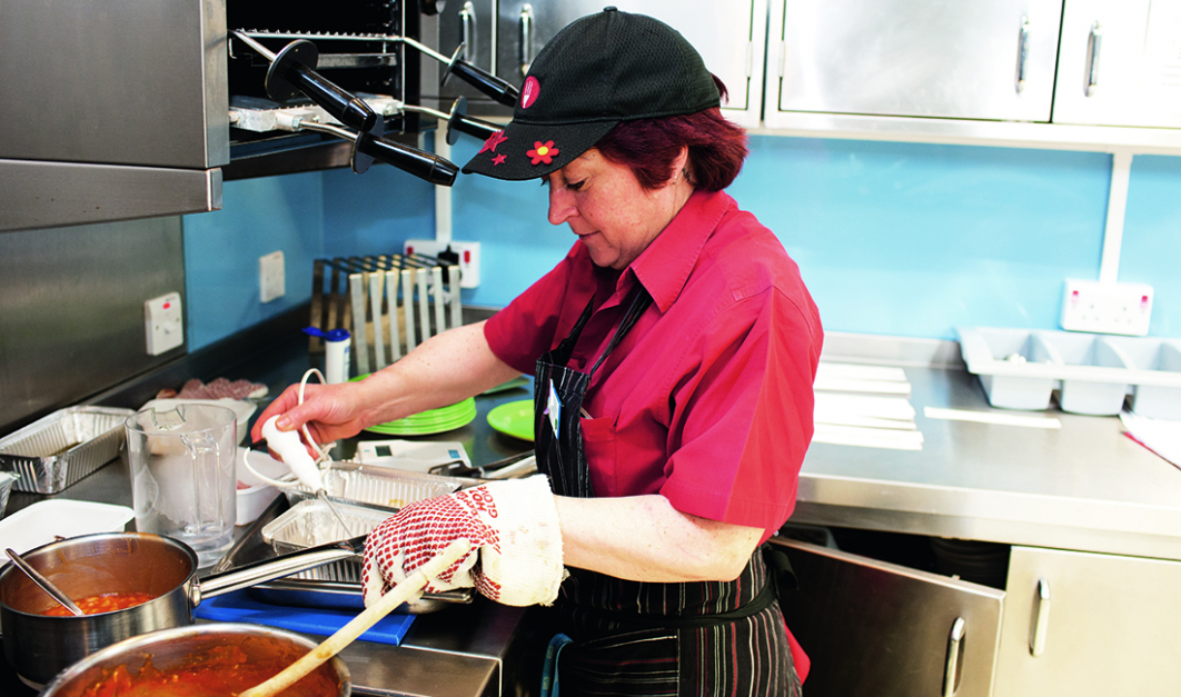Shirley Moore, Paediatric Catering Supervisor