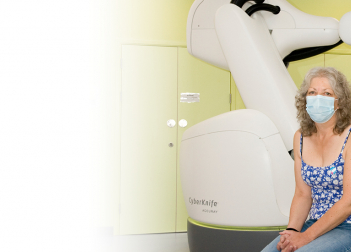 Pioneering CyberKnife radiotherapy treats first patients at The Royal Marsden, Sutton