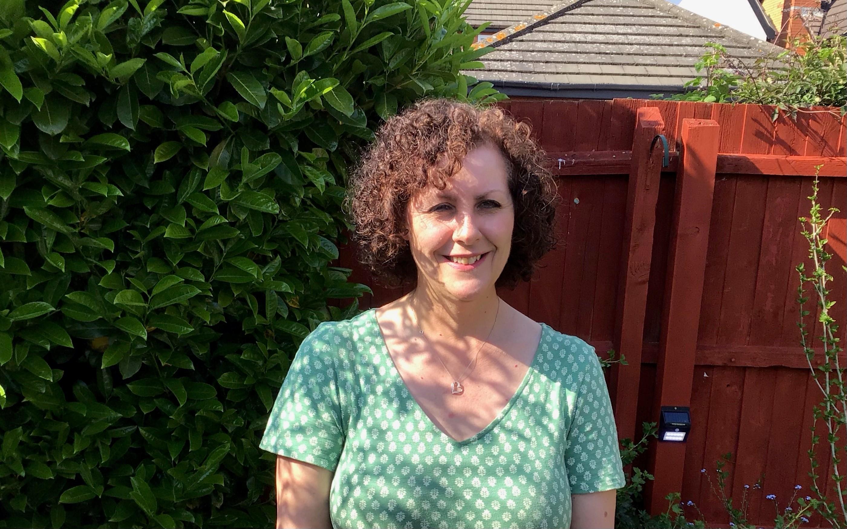 Janet Barton, 62 from Cambridge