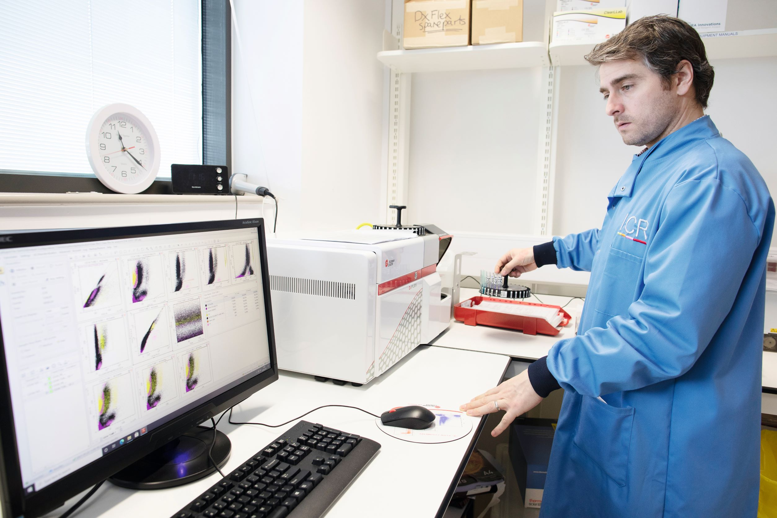 The new facilities for immunophenotyping
