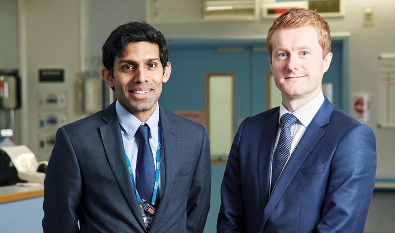 Dr Ramanathan Kasivisvanathan and Dr Jamie McCanny