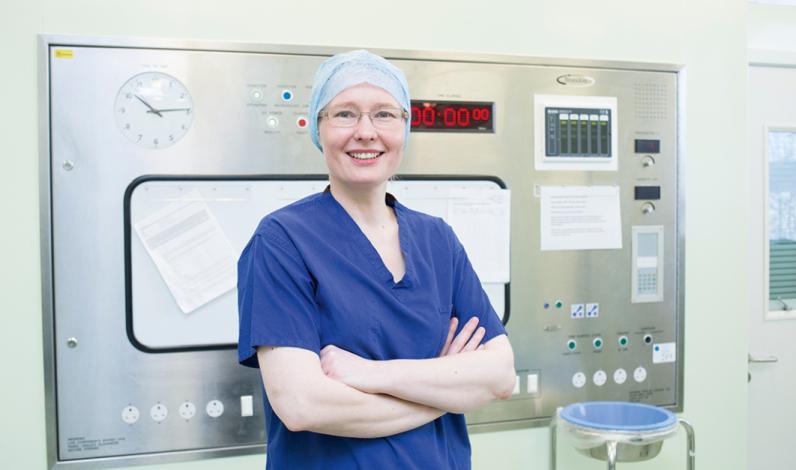 Ms Katherine Krupa, consultant breast surgeon