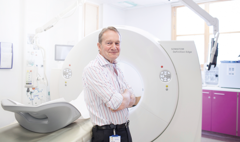 Leading the way: Consultant Radiologist Dr Mike King