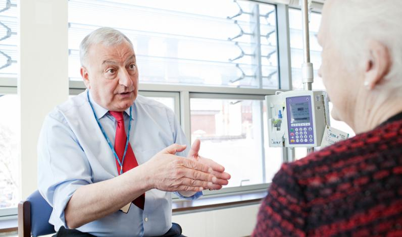 Professor Martin Gore, Medical Director at The Royal Marsden and Consultant Medical Oncologist in gynaecology