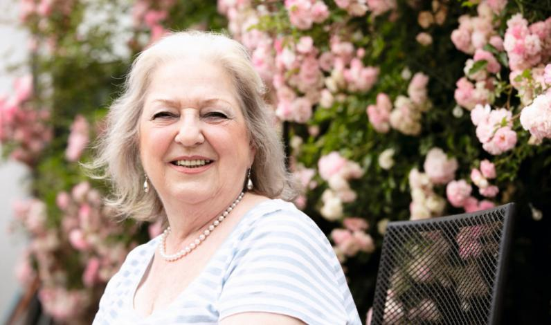 Anna Selo, 71, lung cancer patient