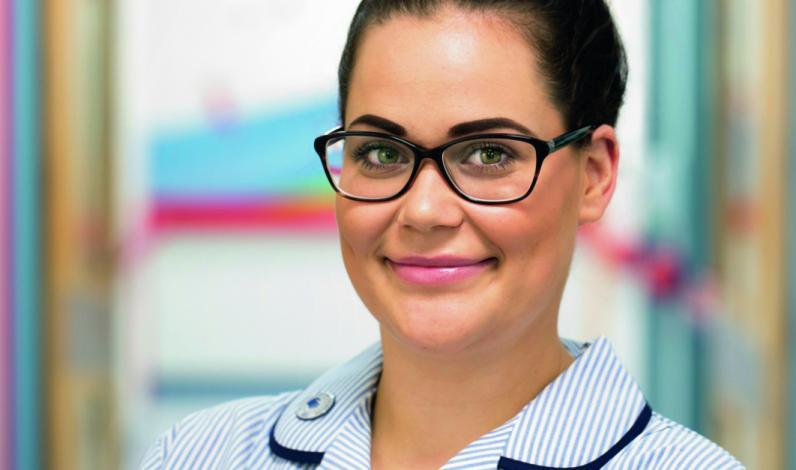 Nadia Freri, Paediatric Staff Nurse